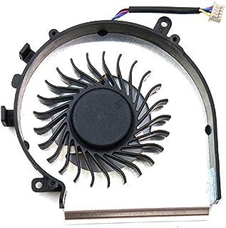 wangpeng Ventilador de CPU de Repuesto para MSI MS-179B MS179B MS-16J9 MS-16JB GE72VR GP72MVR GP72VR 6RF 7RFX 7RD 7RE GE72 Apache Leopard Pro Ensamblaje Interior, P/N: PAAD06015SL N366