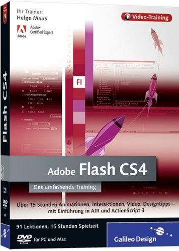 Adobe Flash CS4 - Das umfassende Video-Training auf DVD [import allemand]