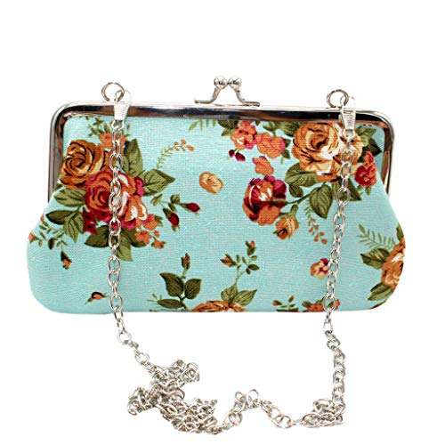 Why Should You Buy Fashion Women Bag! ZOMUSAR Women New Phone Bag Retro Canvas Rose Wallet Fashion C...