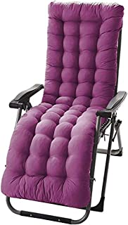 Thicken Recliner Cushion, Zero Gravity Chair Recliner Rocking Cushion Sofa Cushion Window Mat Tatami Mat, Not Fade, Can Not Be Used for Home Office Indoor And Outdoor Decoration,Purple,155488
