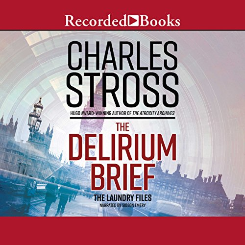 The Delirium Brief audiobook cover art