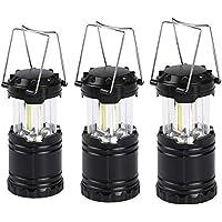 3-Pack Karlscrown Portable Collapsible LED Camping Lanterns
