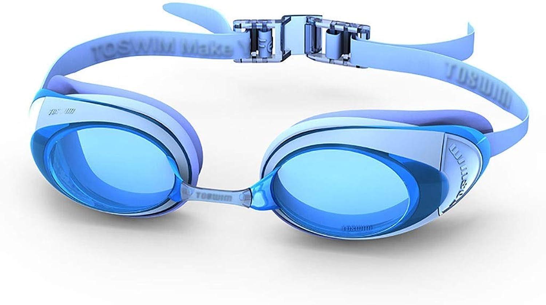 DX Kinder Schwimmbrille, Schutzbrille für Mnner Schwimmbrille wasserdicht Anti-Fog HD weiblichen groen Rahmen verstellbare Komfortbrille