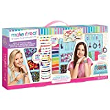 Make It Real - Mega Jewelry Studio - DIY Bead Necklace and Bracelet Making Kit for Tween Girls - Arts and...