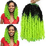 6Pack Ombre Butterfly Locs Crochet Hair...