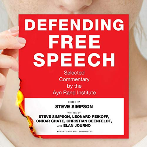Defending Free Speech audiobook cover art