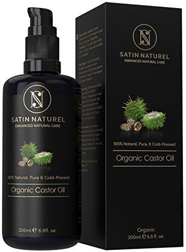 Aceite de Ricino orgánico para el pelo Satin Naturel 200ml