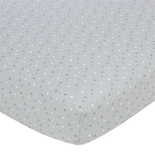Gerber Knit Crib Sheet - Grey Multi D