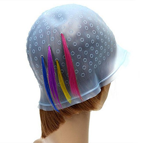 EQLEF One Piece Soulignant Hat Hair Dye Outil pour Salon de Coiffure
