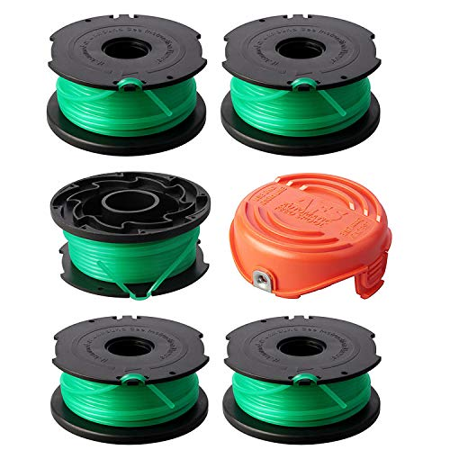 Great Features Of Eyolotyi Trimmer Spools Compatible with Black Decker SF-080 GH3000 LST540 Weed Eat...