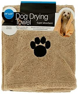 Kole Ultra-Absorbent Pet Bath Towel for Small, Medium, Large Dogs and Cats, Machine Washable