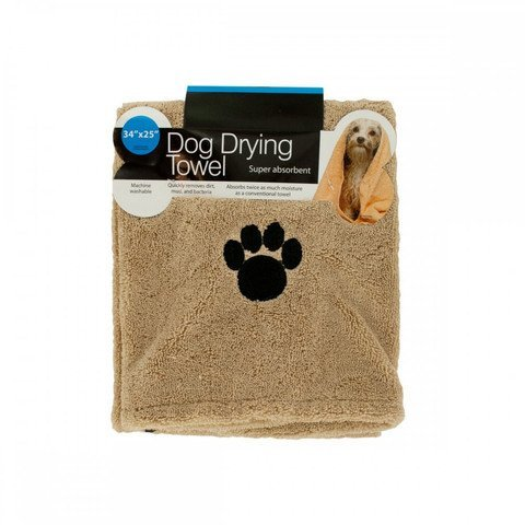 Kole KI-OF663 Super Absorbent Dog Drying Towel, Medium