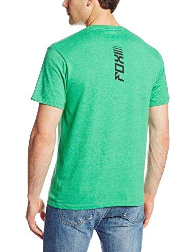 Fox Herren Upside T-Shirt, Heather Green, XXL