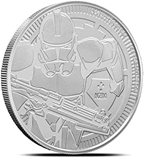 NU 2019 CLONE TROOPER STAR WARS 1OZ .999 FINE COIN LIMITED MINTAGE of 250,000 Brilliant Uncirculated