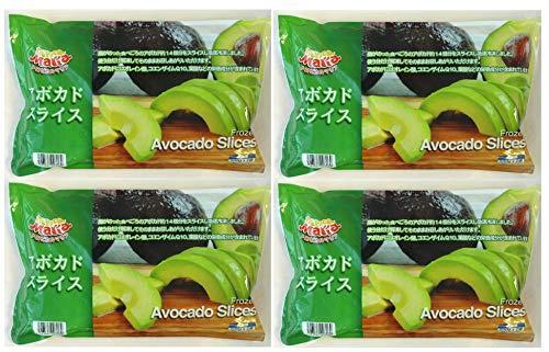 593330-4P ペルー産冷凍 トロピカルマリア アボカド スライス Frozen Avocado Slice 1pac1kg(500g×2袋) ×4pac