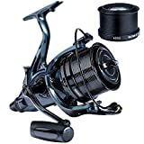 Sougayilang Spinning Reel,Ultra Smooth Powerful Fishing Reel 13+1 Metal Body Surf Fishing Reels for...