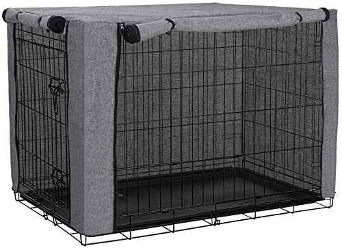 chengsan Dog Crate Cover, Durable Windproof Pet Kennel Cover Provided for...