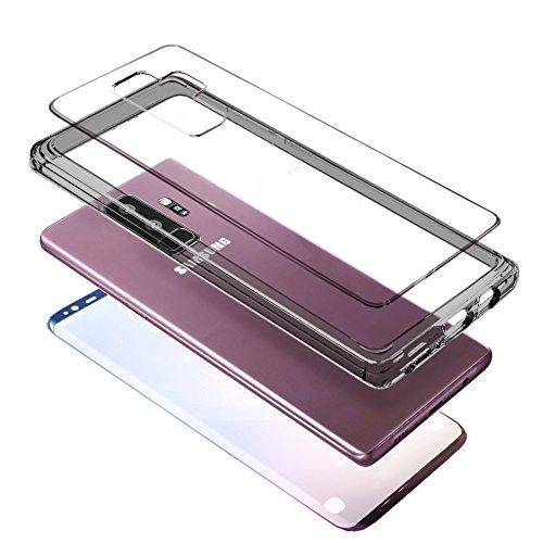 Galaxy S9 Plus Samsung Custodia Trasparente 3D REAL...