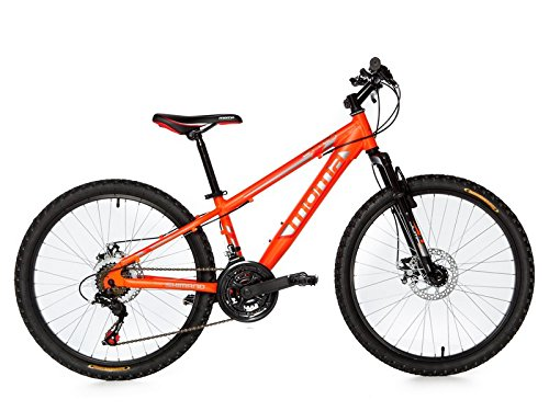 Moma Bikes Kinder Gtt 24 Fahrrad, Orange, One Size