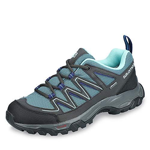 Salomon L40780200 Arcalo 2 Gore-TEX® - Scarpe da trekking in rete di nylon, impermeabili, Blu (Azzurro), 40 2/3 EU