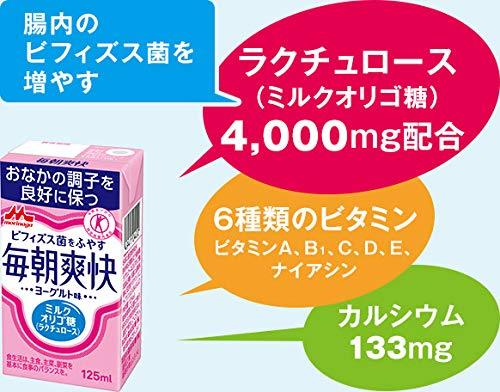 【公式正規品】森永乳業毎朝爽快24本セット【特定保健用食品】