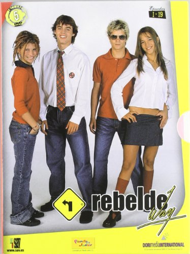 Rebelde Way - Temporada 1, Episodios 1-19 [DVD]