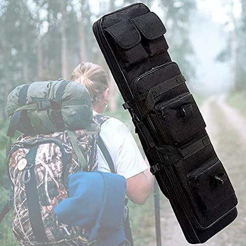 ☛ 【Borsa multifunzione】 Questa borsa non può essere utilizzata solo come borsa per armi, ma anche come borsa per attrezzi da pesca e custodia. È molto adatto per viaggi, addestramento sul campo, tiro, caccia, attività tattiche e deposito o trasporto ...