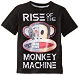 paul frank clothing - Paul Frank Little Boys' Monkey Machine T-Shirt, Black, 5