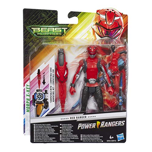 Power Rangers 43621 Ninja Acier 30 cm Red Ranger FIGURE NEW