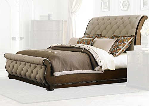 Liberty Furniture INDUSTRIES 545-BR-QSL Cotsworld Queen Sleigh Bed, Cinnamon