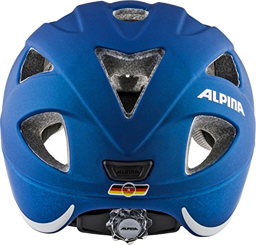 Alpina Unisex Jugend XIMO L.E. Fahrradhelm, Blue, 45-49 cm - 4