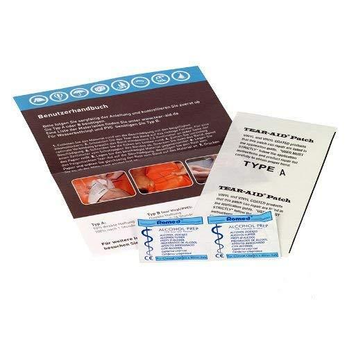 Tear Aid Typ A Reparaturflicken für fast alle Materialien