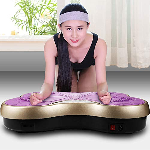 KimCC Ultra Slim vibrierender Disk-Thin Fat Rejection-Maschine Home Fitness-Maschine Schüttler Vibrations Fat Rejection Maschine faul Home Fitness & Weight Loss