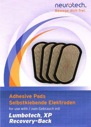 Neurotech selbstklebende Elektroden für Lumbotech XP, TYP 718x4 90x50mm, 4 Stück (6005.0532 / 4030.0030) von Technikus