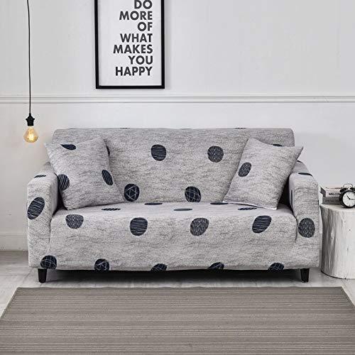 Fundas de sofá elásticas Modernas para sofá, Fundas para sofá, Fundas Protectoras para sillas, Fundas de sofá para Sala de Estar A16, 1 Plaza