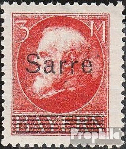 autentico en linea Prophila Collection SAAR 29 examinado 1920 Baviera con sobretasa sobretasa sobretasa (Sellos para los coleccionistas)  calidad auténtica