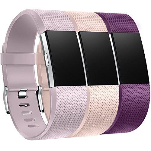 HUMENN Compatible con Fitbit Charge 2 Correa