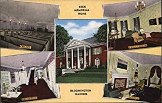 beck memorial home