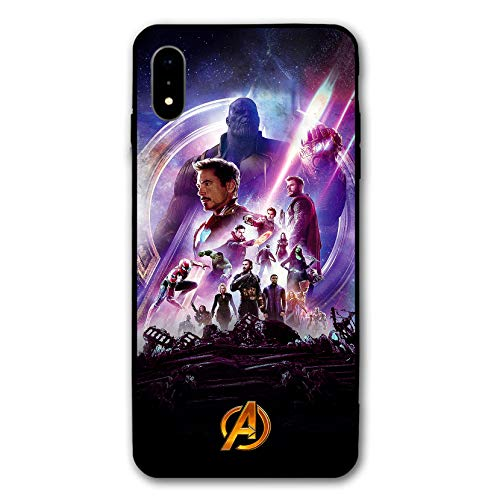 iPhone XR Case Endgame Comic Design Cover Cases for iPhone XR 6.1' (Avengers-iWar)