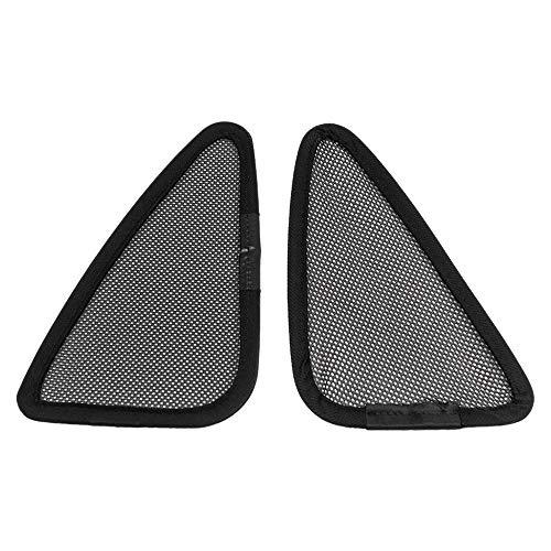 Casinlog Protección solar para ventana de coche modelo 3, protección solar triangular