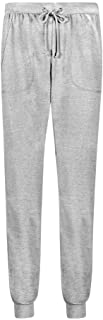 Fleece Sweatpants for Men Regular-Fit - 60% Cotton 40% Poly Sweatpant with and Without Rib