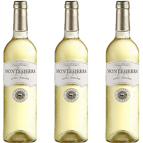 Montesierra Selección Vino Blanco Joven - 3 botellas x 750ml - total: 2250 ml