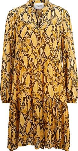 Second Female Damen Kleid mit Schlangenprint XS