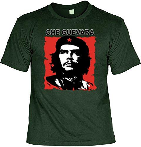 Revolution T-Shirt Che Guevara (Größe: L) in tannengrün