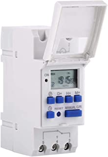 7-Day Heavy Duty THC 15A Digital Timer Programmable Timer Relay 16 On & Off Digital Timer Switch (24V)