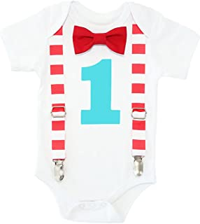 Baby Boys 1st Birthday Circus Carnival Outfit
