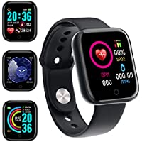 iCatchy Fitness Tracker with Heart Rate Monitor & 1.3 Inch Touch Screen