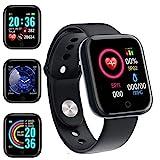 Smartwatch Orologio Fitness Uomo Donna Fitness Tracker Contapassi Calorie Cardiofrequenzimetro da...