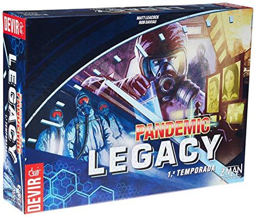 Pandemic Legacy 1ª Temporada. Caixa Azul - Devir