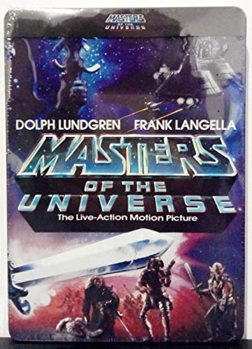 Masters of the Universe [Combo pack DVD – BLURAY] [3D embossing] LIMITED METAL EDITION] [FUTURE PACK]
